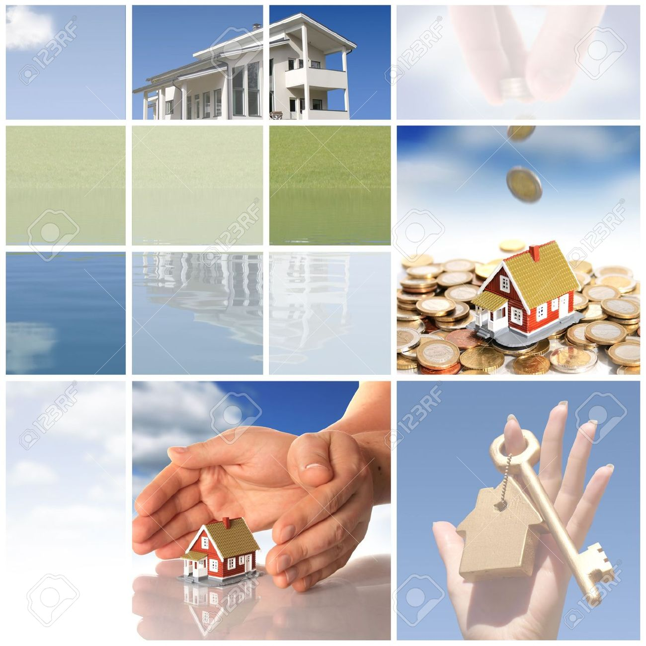 4835126-Collage-Invest-in-real-estate-concept--Stock-Photo-property
